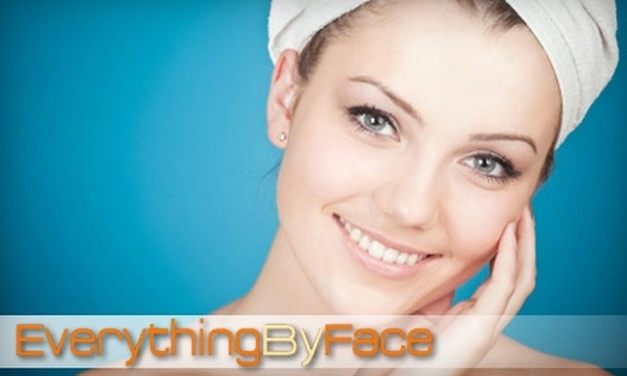 EverythingByFace - University Heights: $45 for a Strawberry or Chocolate Facial ($90 Value), $28 for a Bikini Wax ($55 Value), or $60 for a Chocolate Mani-Pedi ($120 Value) at EverythingByFace