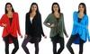 Free to Live Women's High-Low Crisscross Tunic: Free to Live Women's High-Low Crisscross Tunic