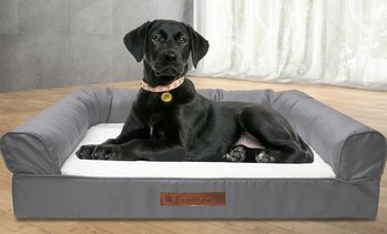 Wags and Whiskers Sofa-Style Orthopedic Sofa Pet Bed