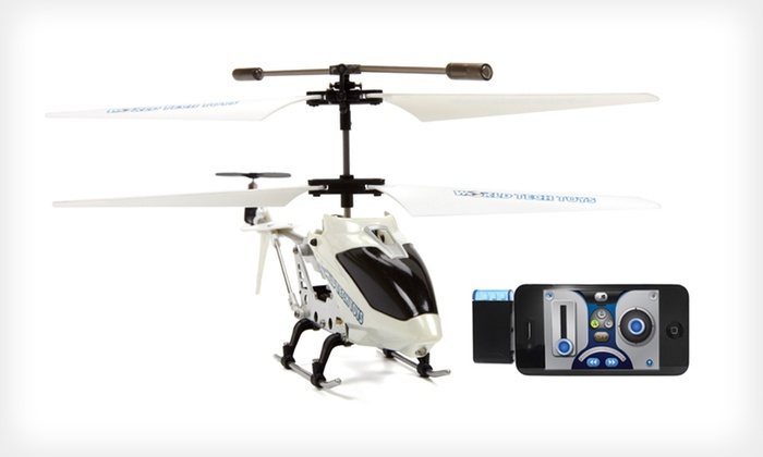 iFly Heli Gyro Remote-Control Helicopter: $29 for an iFly Heli 3.5-Channel Remote-Controlled Electric Helicopter ($84.99 List Price). Free Shipping and Returns.