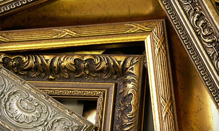 Galleria Art & Frame - Willowdale: Custom Framing at Galleria Art & Frame (68% Off). Two Options Available.