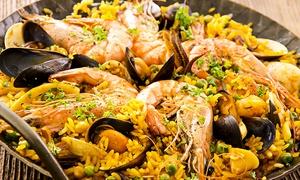 La Pirada, 11ème: Paëlla et sangria pour 2 ou 4 personnes dès 25 € au restaurant La Pirada rue de Lappe