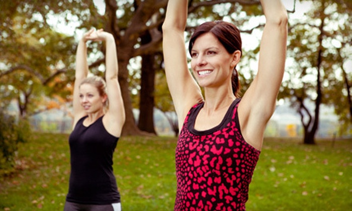 MetaBody Yoga & Fitness Pass - Multiple Locations: $39 for Unlimited Women's Outdoor Boot-Camp Sessions Through September 30 from MetaBody Yoga & Fitness Pass ($300 Value)