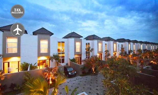 Bali: 4* Private Pool + Flights 0