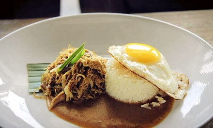 New American Food for Dinner or Sunday Brunch at Duos Lounge (Up to 38% Value)