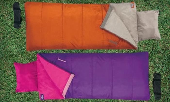 Children's Sleeping Bags: Boys' or Girls' Kelty Star Gazer 45 Sleeping Bags (Up to 70% Off)