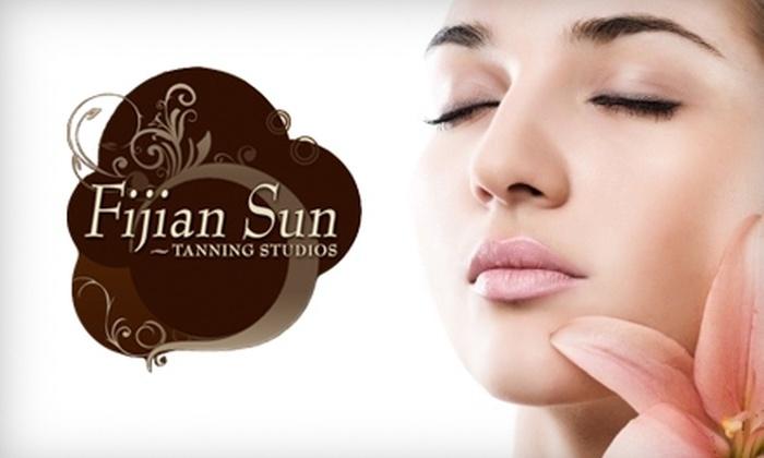 Fijian Sun Tanning Studios - Victoria: $23 for Two Infrared Sauna Sessions at Fijian Sun Tanning Studios ($56 Value)
