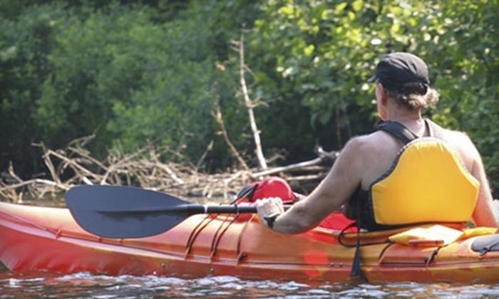 Fontana Paddle Company - Fontana-on-Geneva Lake: Kayak Rental at Fontana Paddle Company in Fontana. Three Options Available.