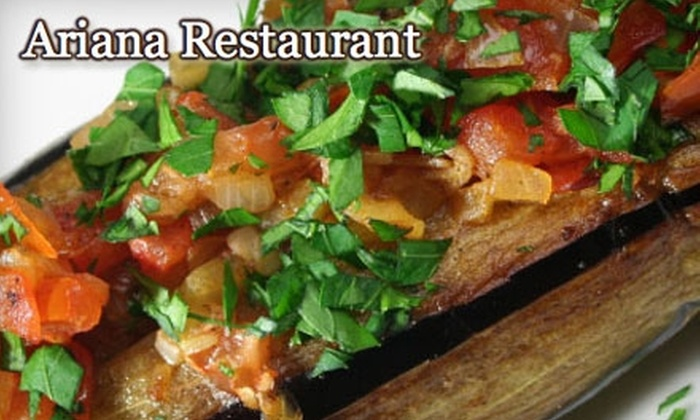 Ariana - Huntington: $20 for $40 Worth of Afghani-Fusion Cuisine and Drinks at Ariana
