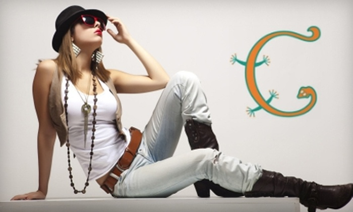 Gecko Fashions - Newark: $15 for $30 Worth of Women's Clothing, Accessories, and Art at Gecko Fashions
