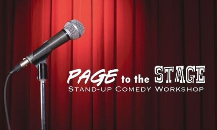 Los Angeles School of Comedy - Westwood: $199 for a Four-Week Stand-Up-Comedy Workshop and a DVD of Your Debut Performance from Page to the Stage ($400 Value)