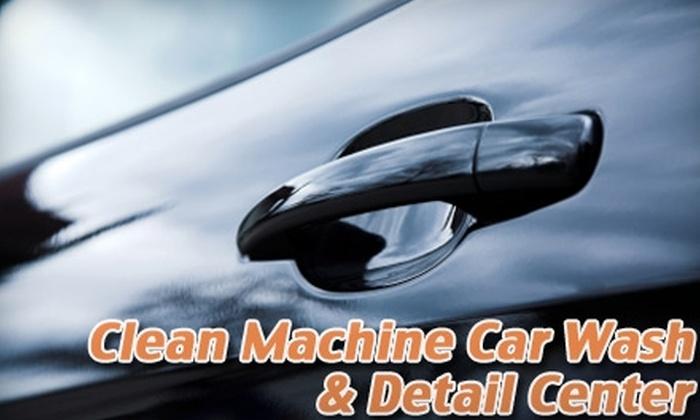 Clean Machine Car Wash & Detail Center - Cheltenham: $20 for Four Ultimate Car Washes at Clean Machine Car Wash & Detail Center ($60 Value)