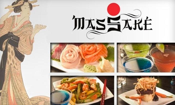 Mas Sake - Marina: $25 for $50 Worth of Japanese-Mexican Fusion at Mas Sake