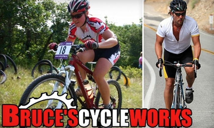 """Bruce's Cycle Works - Sutherland: $25 for a """"Major Tune-Up"""" from Bruce's Cycle Works ($49.99 Value)"""
