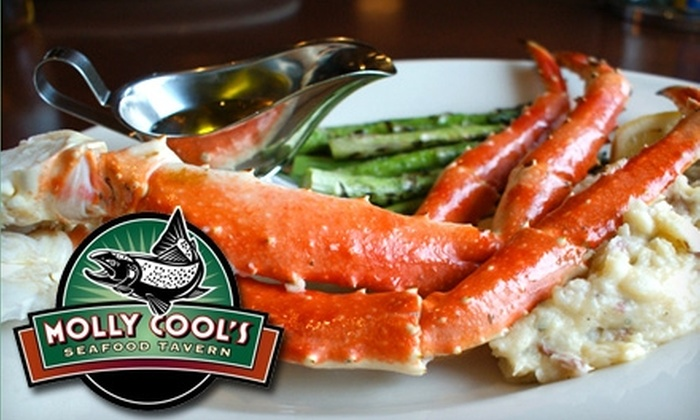 Molly Cool's Seafood Tavern - Kilbourn Town: $20 for $40 Worth of Seafood at Molly Cool's Seafood Tavern