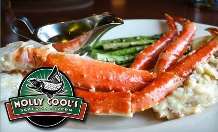 $40 Groupon to Molly Cool's Seafood Tavern - Molly Cool's Seafood Tavern in Milwaukee