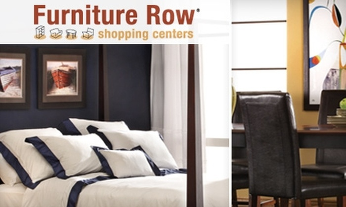 75% Off At Furniture Row