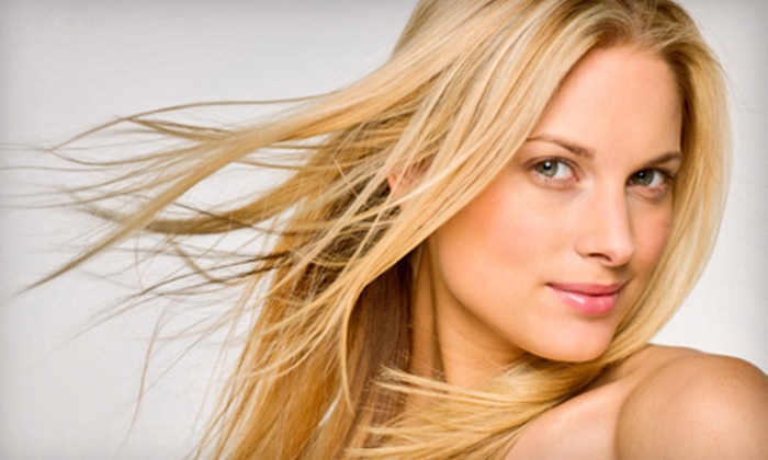 Eco Chic Salon - Irvine Business Complex: $99 for a Keratin Hair-Smoothing Treatment at Eco Chic Salon in Irvine ($350 Value)