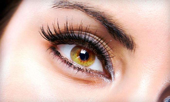 Posare Salons - Multiple Locations: Partial Set of Eyelash Extensions or Full Set with Option of One Fill at Posare Salons (Up to 72% Off)
