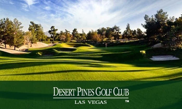 Desert Pines Golf Club - Las Vegas: $50 for One Round of Golf and a Range Card, Plus Cart Rental, from Desert Pines Golf Club (Up to $129 Value)