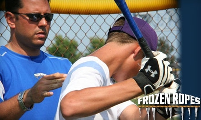 Frozen Ropes - Colonie: $46 for Four Children's Baseball Training Classes at Frozen Ropes ($92 Value)