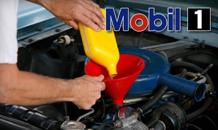 Mobil1 Lubes - Multiple Locations: $17 for 21-Point Full-Service Oil Change at Mobil1 Lubes ($35.99 Value)