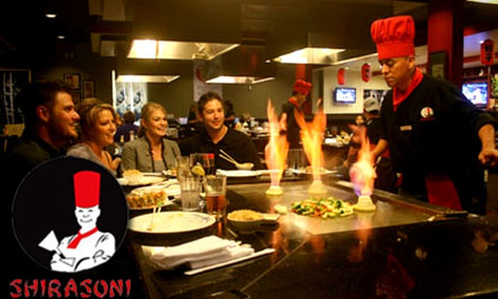 Shirasoni Japanese Restaurant - Multiple Locations: $15 for $30 Worth of Japanese Fare and Drinks at Shirasoni Japanese Restaurant