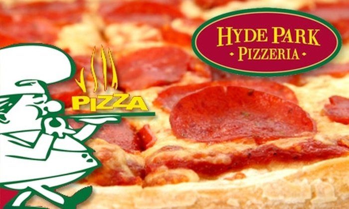 Hyde Park Pizzeria - Hyde Park: $10 for $20 Worth of New York–Style Pizza and Drinks at Hyde Park Pizzeria