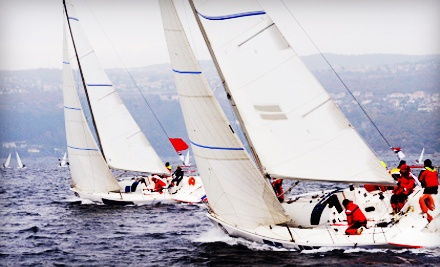 Two-Hour Introductory Sailing Trip for Up to Two People (Up to a $250 value) - Marina Sailing Newport Beach in Newport Beach