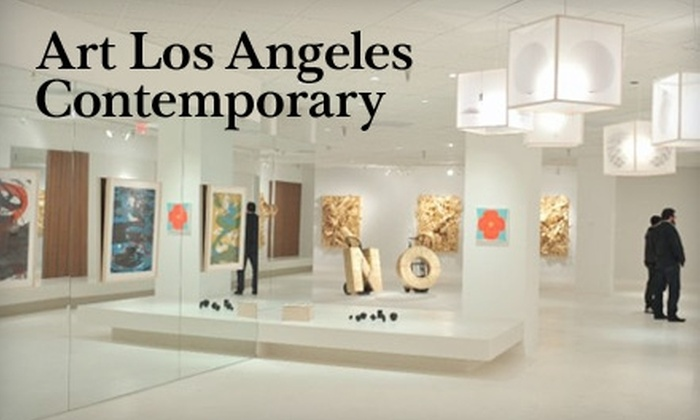 Art Los Angeles Contemporary - Sunpark: $8 for One-Day Pass to Art Los Angeles Contemporary in Santa Monica ($18 Value)