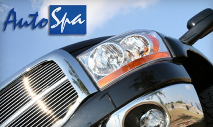Auto Spa - Town of Lake: $15 for an Ultimate Car Wash at Auto Spa ($35.45 Value)