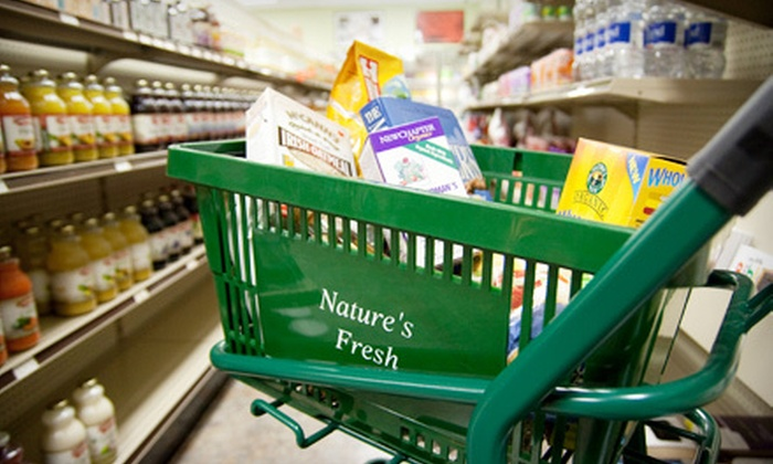 Nature's Fresh Health Food Store - Perry Hall: $20 for $40 Worth of Supplements and Groceries at Nature's Fresh Health Food Store in White Marsh