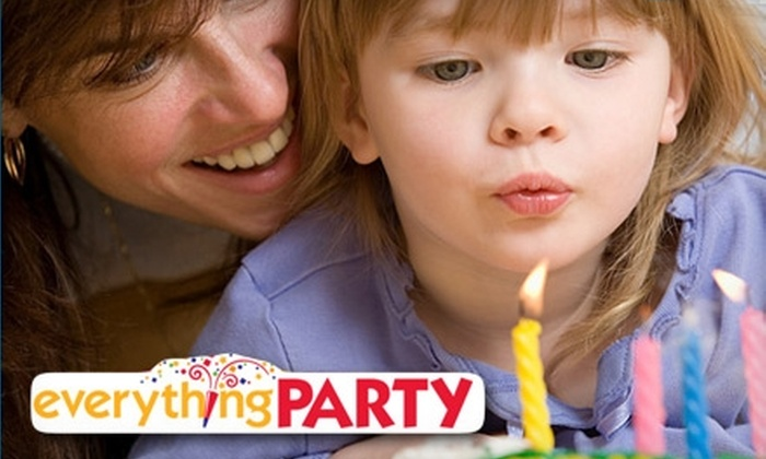 Everything Party - Multiple Locations: $10 for $20 Worth of Party Supplies at Everything Party