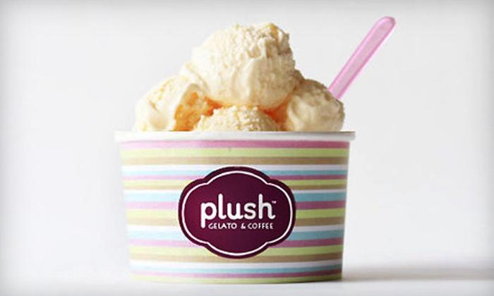 Plush Gelato & Coffee - Vienna: $10 for $20 Gift Card Toward Treats at Plush Gelato & Coffee in Vienna