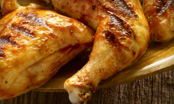 Star Chicken - Playa Vista,Westchester,Fox Hills: Rotisserie Chicken Meal for Two or Catering Packages for 8 or 12 at Star Chicken (Up to 62% Off)