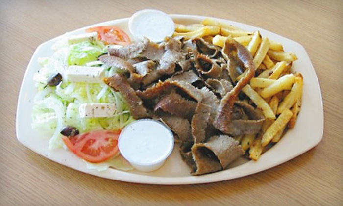 Squabs Gyros - Melrose Park: Gyro Meal for Two or Four at Squabs Gyros in Melrose Park