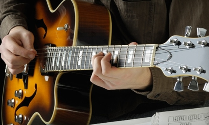 Metal Shop Music - Tarpon Springs: $20 for Two Private Guitar Lessons at Metal Shop Music in Tarpon Springs ($40 Value)