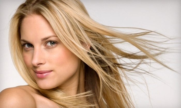 Tyler Day Salon - Holly Springs: $49 for a Women's Haircut and Color (Up to $120 Value) or $12 for a Men's Haircut ($25 Value) at Tyler Day Salon in Holly Springs