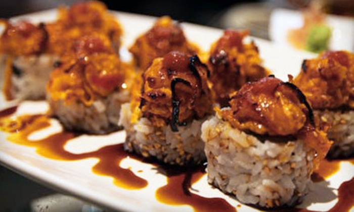 Kinado Sushi Bar - Richardson: $25 for $50 Worth of Japanese Dinner at Kinado Sushi Bar in Richardson