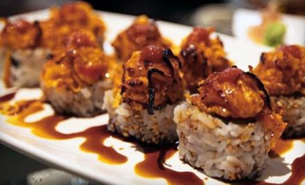 $50 Groupon to Kinado Sushi Bar - Kinado Sushi Bar in Richardson