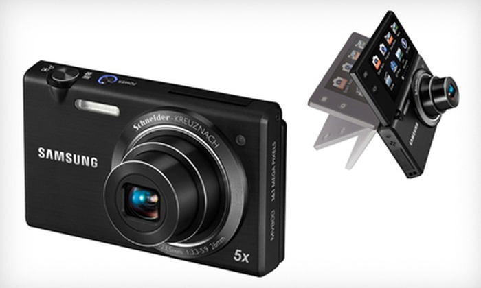 Samsung MultiView Digital Camera: $175 for a Samsung 16.1 Megapixel MultiView Compact Digital Camera ($279.99 Value). Shipping Included.