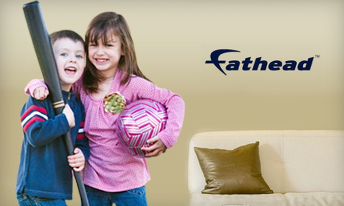 Fathead: $40 for a Customized Medium Wall Graphic, Including Shipping, from Fathead ($79.98 Value)