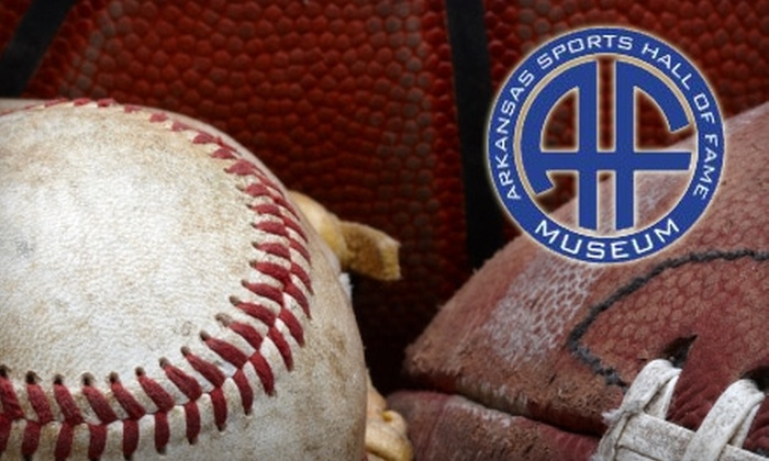 Arkansas Sports Hall of Fame Museum - North Little Rock: $6 for Two Admissions To Arkansas Sports Hall Of Fame Museum (up to a $12 Value)