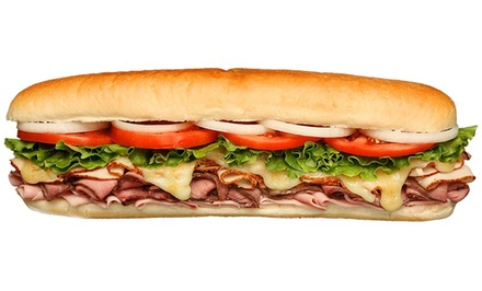 $15 for Three Groupons, Each Good for a Sandwich Combo Meal at Larry's Giant Subs ($27 Value)