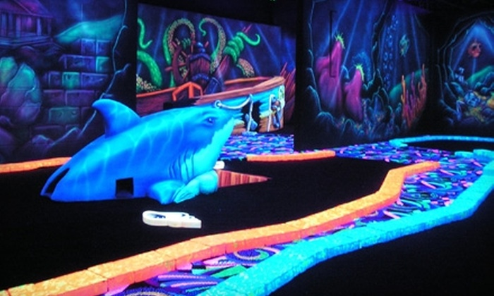 A Putt Above - Bells Corners Commercial - Bells Corners East: $12 for Two Pirate Combos Including Mini Golf, 3-D Glasses, and Glow Bracelets at A Putt Above (Up to $25 Value)