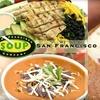Half Off at San Francisco Soup Company