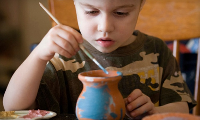 Plaster Cottage of Clermont - Clermont: $12 for $25 Worth of Paint-Your-Own Pottery at Plaster Cottage of Clermont