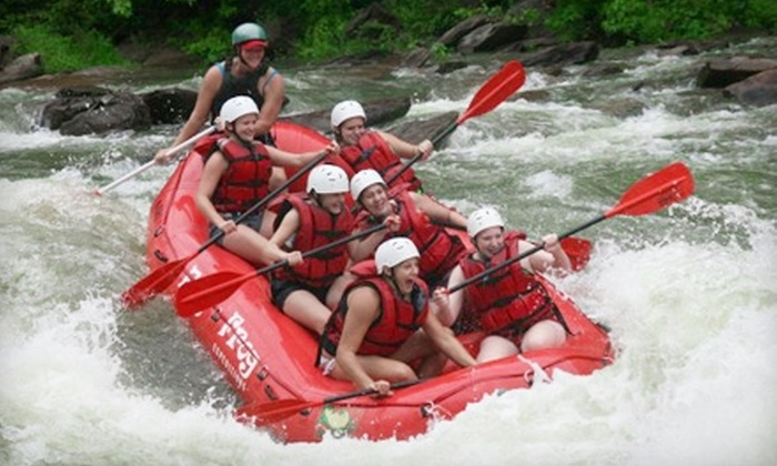 Big Frog Expeditions - 2: $23 for a White-Water-Rafting Trip with Big Frog Expeditions in Benton, Tennessee (Up to $46 Value)