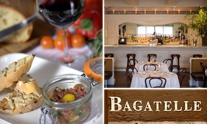 Bagatelle - Meatpacking District: $25 for $50 Worth of French and Mediterranean Dining Sunday through Wednesday at Bagatelle