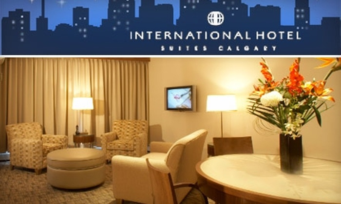 International Hotel Suites Calgary - Downtown: $129 For a Two-Night Weekend Stay at International Hotel Suites Calgary ($284 Value)